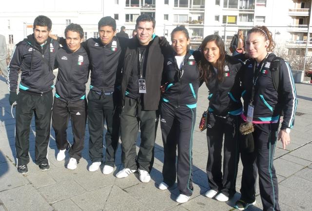 Equipe mexique Karaté