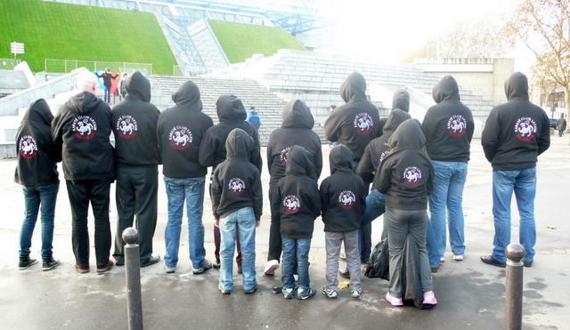Le KCV à Bercy pour les championnats du monde 2012