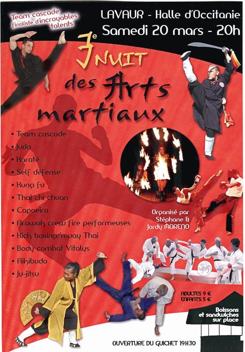 Nuit des Arts martiaux à Lavaur 2010